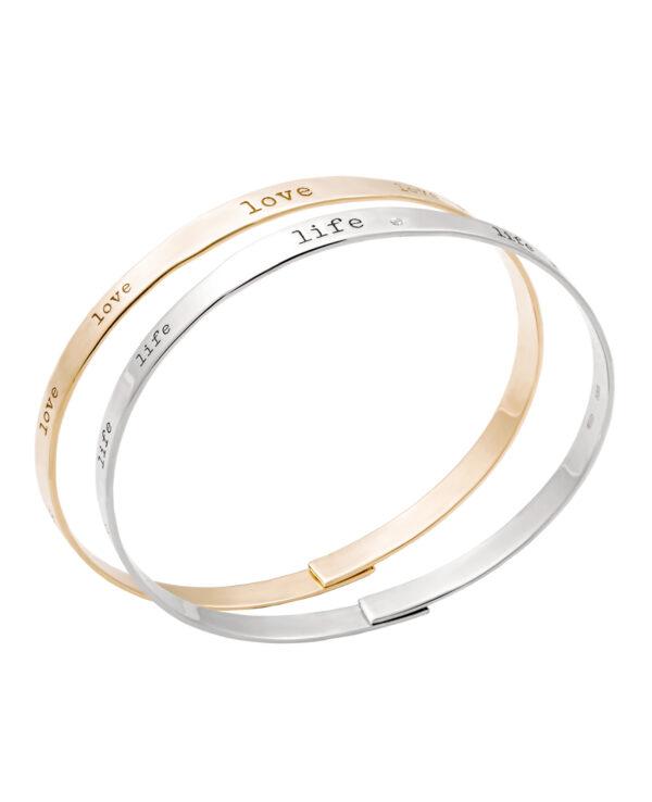 AMELIE LIFE 14 – KARAT WHITE GOLD BRACELET WITH DIAMOND2