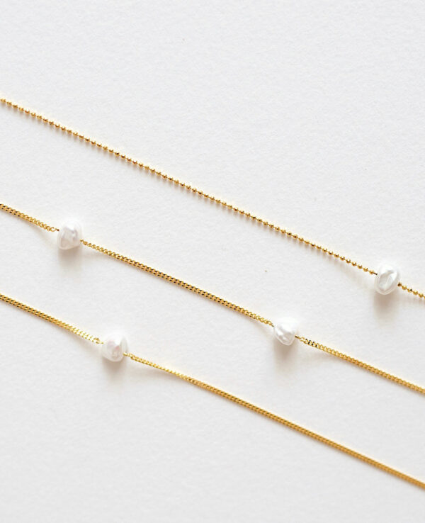 JOYCE BEAD PEARL NECKLACE IN GOLD3