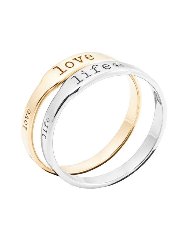 KASSIDY LIFE 14 – KARAT WHITE GOLD RING WITH DIAMOND2
