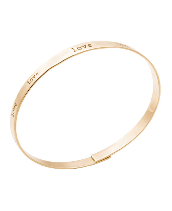 LENNOX LOVE 14 – KARAT YELLOW GOLD BRACELET1