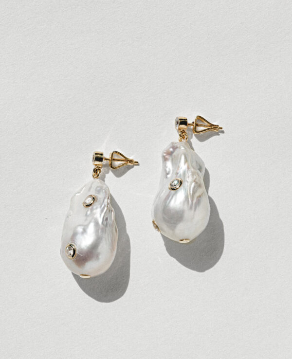 PHOEBE BAROQUE EARRINGS IN CULTURED PEARLS WITH 14K YELLOW GOLD1