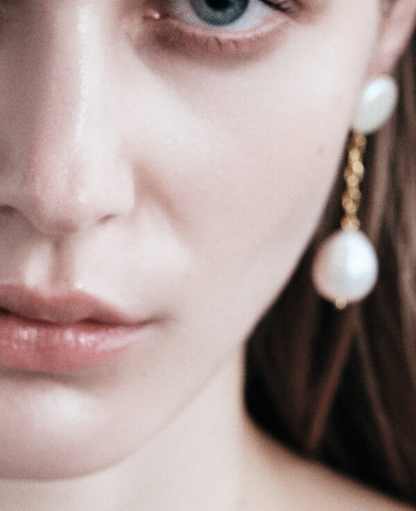 EDITH BAROQUE EARRINGS IN CULTURED PEARLS WITH 14K YELLOW GOLD45