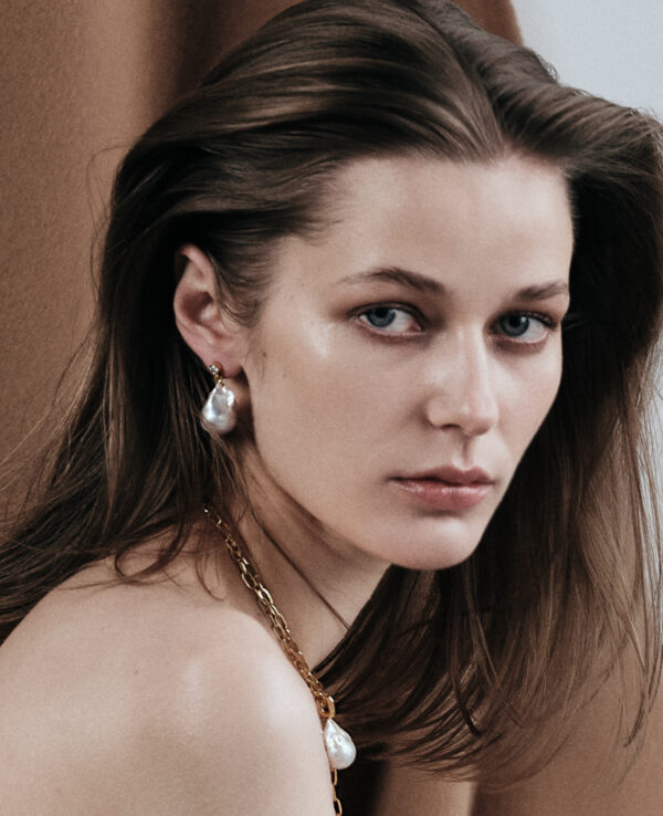KATE BAROQUE EARRINGS IN CULTURED PEARLS WITH 14K YELLOW GOLD44