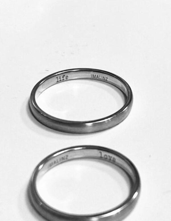 WEDDING RINGS 03 BW